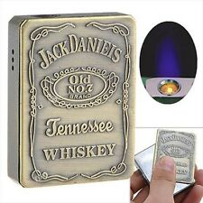 Jack Daniel's Refillable Butane Windproof Torch Cigarette Lighter - Jack Daniels