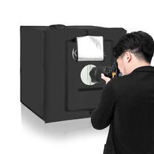 Photo LED Light Box Photography Studio Portable Professional Cube w/5 Backdrop