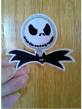 Jack - Nightmare Before Christmas - Pumpkin King - Embroidered Iron On Patch