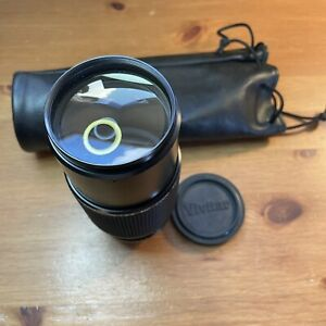 Vivitar 80-200mm Camera Lens- 1:4.5 MC Zoom - P/K Mount with Case Good Condition