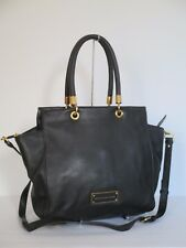 NEW Marc Jacobs Bentley Too Hot To Handle Black Leather Shoulder Bag M0001341