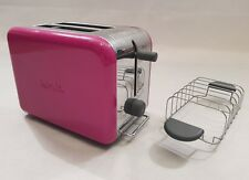 Kenwood Kmix Toaster Pink Two Slice Toaster with Rack Model TTM020A RRP £59.99