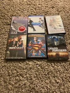 lot of 6 dvds catch me if you can date night transformers the last straw navy