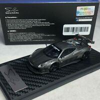 1/64 ScaleBox LB Works 458 Gray Metallic Singapore exclusives
