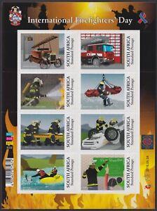 SOUTH AFRICA - 2015 International Firefighters' Day sheetlet (MNH)