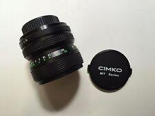 Cimko MT Series 28-50mm f/3.5-4.5 Vintage Lens for Pentax Cameras A3