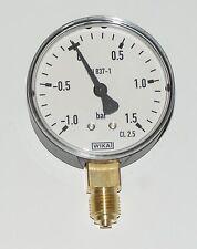 "Vacuum Pressure Gauge 63mm x 1/4"" connection slurry tanker"