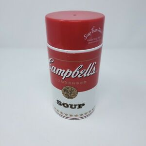 CAMPBELLS SOUP CAN-TAINER THERMOS 2010 BPA FREE 11.5 OZ