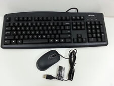 Microsoft Wired Desktop 200 With Mouse 2SJ-00003 Quiet Touch Keys
