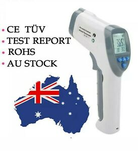 Digital Infrared Forehead Thermometer Gun, CE TUV, Test report 1year guaranty