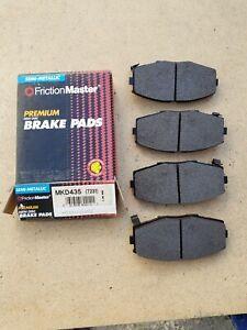 Disc Brake Pad-Pad Friction Master Morse MKD435 fits 89-92 Toyota Supra NOS