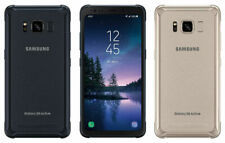 AT&T Unlocked Samsung Galaxy S8 Active 64GB Gray Gold Blue - EXCELLENT CONDITION
