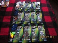 Lot of 12 Star Wars The Power of the Force collection 2