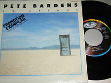 """7"""" - Pete Bardens (Ex Camel) In Dreams & Many Happy Returns - MINT PROMO 1987"""