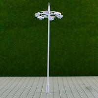 S212 - 2 Stück moderne Straßenlampen 6-flammig 12cm weiß