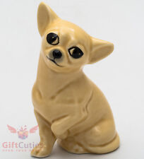 Porcelain Figurine of the Chihuahua dog