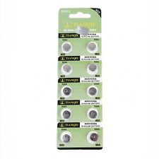 10pcs AG9 394A 394 SR936SW LR936 LR45 SR45 SR93 Alkaline Button Watch Battery