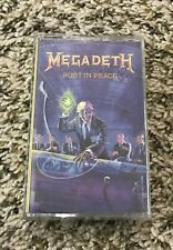 RARE Megadeth Rust in Peace Capitol 1990 USA C4-91935 Cassette Canada Black Tape