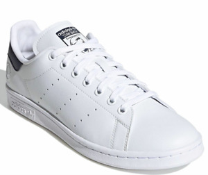 A- 34  Adidas Originals Stan Smith Vegan White / Collegient Navy Casual Men Shoe