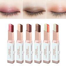 Dual Color Metallic Eye Shadow Pen Pencil Eyeshadow Stick Eyeliner Liner Crayon*
