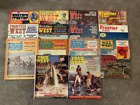 Lot (14) Vintage Western Magazines: True West Golden West True Frontier 60s-80s