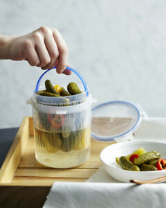 Lock & Lock Pickle, Onion. Beetroot Container with Tray 1.4lt