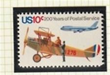 US 1975  200 YEARS US POST 10 CENT AIR MAIL COMMEMORATIVE STAMP MNH