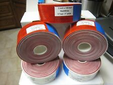 "5 -   WHITE RED Reflective   Conspicuity Tape 2"" x 100' 7-11"