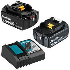 Genuine Makita LXT 18V Li-Ion Battery and Charger Combo 4AMP Batteries Kit
