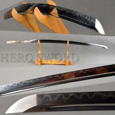 CLAY TEMPERED Folded Steel Japanese Samurai Katana Sword Blade Offer Customize