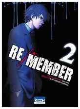 manga Re/Member Tome 2 Seinen MURASE Katsutoshi Welzard Ki-Oon ! horreur カラダ探し