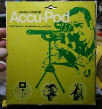 Vintage Bausch & Lomb Accu-Pod Bipod Nos