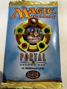 Magic The Gathering PORTAL Starter Level BOOSTER Pack FACTORY SEALED