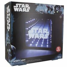 STAR WARS DUAL POWERED INFINITY LIGHT 25cm x 25cm  OFFICIALLY LICENSED .. .BOXED