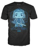 Funko Pop Star Wars Kylo Ren T-Shirt Men's Black Blue Target Exclusive Tee NEW