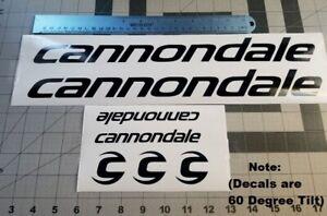 Cannondale Bike Decals Sticker Set 7 MTB DH Tilted Bike Makeover
