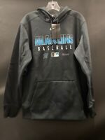 MIAMI MARLINS BASEBALL NEW NIKE AUTHENTIC COLLECTION SWEATSHIRT SIZE MEDIUM