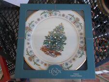 Lenox 1994 Christmas Trees Around the World Plate, Poland, w/ Box. Vgc