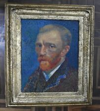 Amazing Van Gogh. framed. oil on canvas. signed.