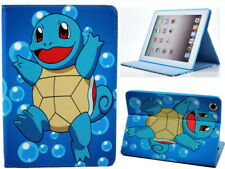 Per Apple iPad 2 3 4 GRANDE POKEMON GO SQUIRTLE Divertente Bambini Cartoon STAND CASE COVER