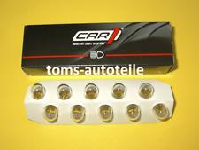 10 Stück CAR1® W5W Glühlampe Lampe Glassockel 12V 5W W2,1x9,5d