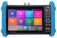 """M-IPC-600D 7"""" TELECAMERA CCTV IP Monitor Tester HD 1080p per TVI CVI e l'HDSDI RJ45"""
