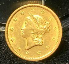 1851- GOLD DOLLAR NICE ORIGINAL COIN