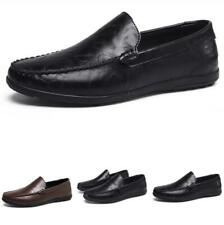 Men Driving Moccasins Pumps Slip on Loafers Casual Retro Leisure Leather Shoes L