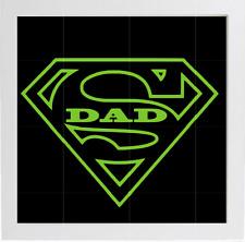 Super DAD box frame vinyl decal