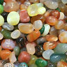 100g Natural Colorful Mixed Tumbled Agate Crystal Bulk Mix Assorted Gem  healing