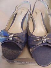 Clarice-Size 8 -Mauve/Purple Satin-Ladies Evening Ball Shoes-Camilla-Bronze