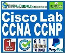 CISCO CCNA Lab w/ CISCO 2610XM WS-C3560-24PS-S, WIC-2T -  with Guiding DVD