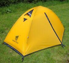 Lightweight 1 Man Tent - Backpacking Tent - Camping - 3 Season - YELLOW 1.85kg