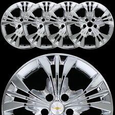 "4 CHROME 2014 2015 Chevrolet Impala LT 18"" Wheel Skins Full Rim Covers Hub Caps"